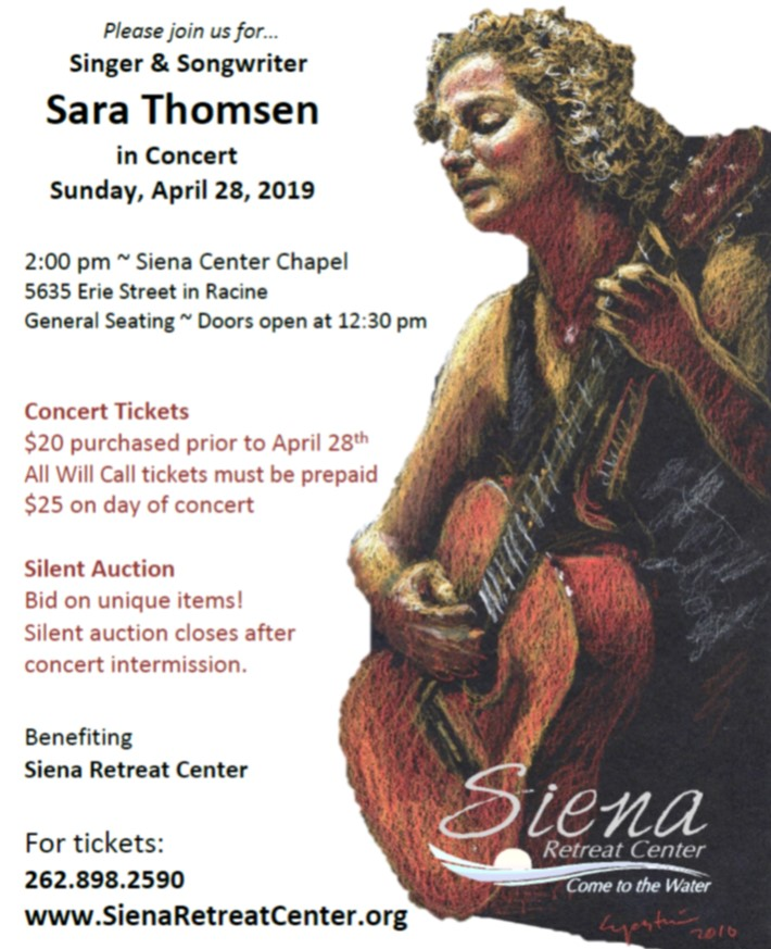 Sara Thomsen in Concert April 28